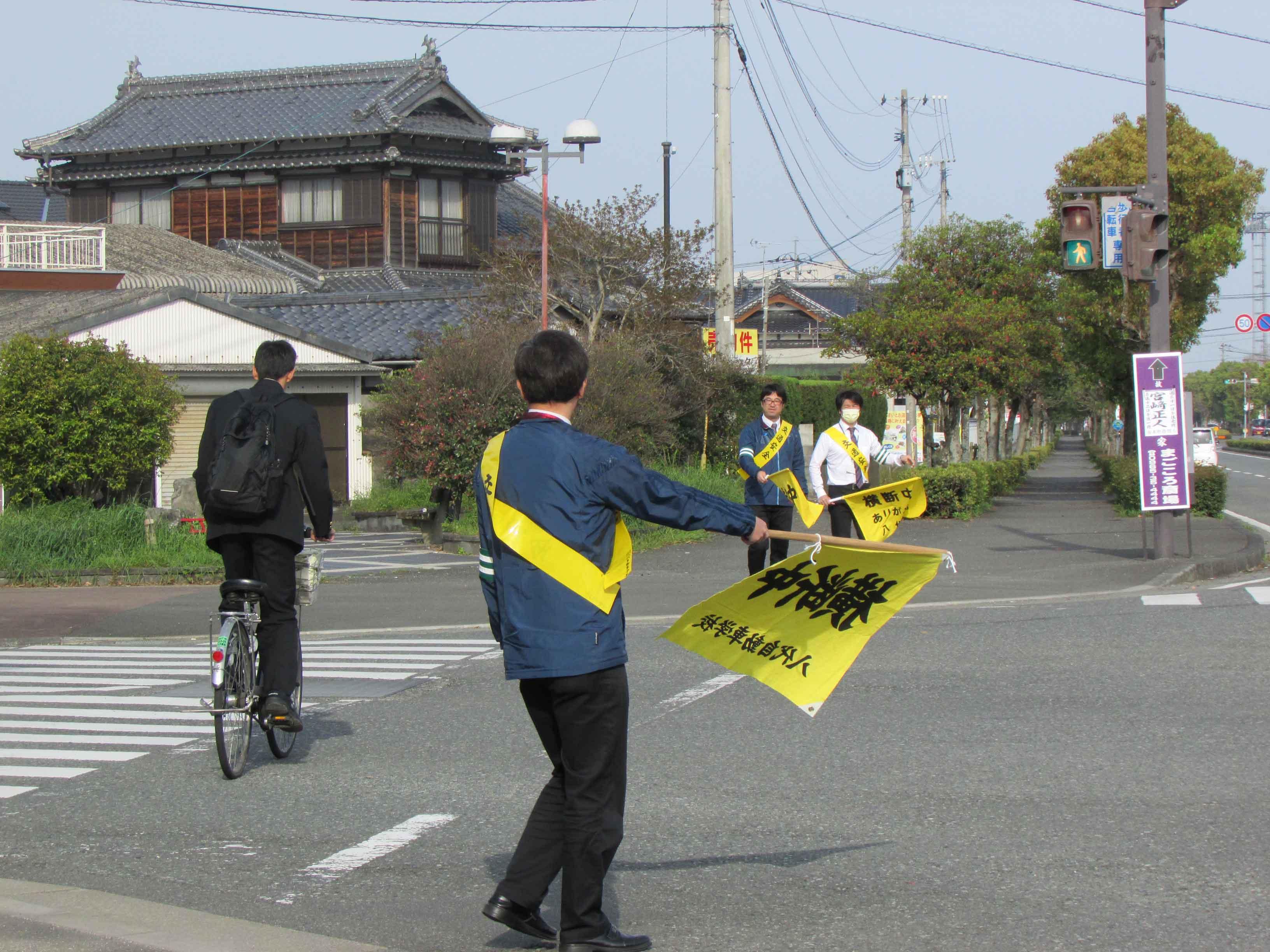 自転車の 自転車 安全講習 14 : 春の全国交通安全運動中 | CAT ...